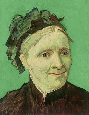 Portrait Of The Artist's Mother Print by Vincent van Gogh