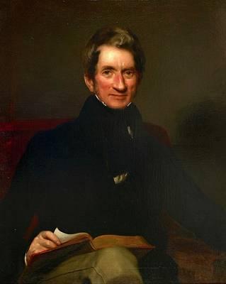 Oil Portrait Photograph - Portrait Of Wigram Money by British Library