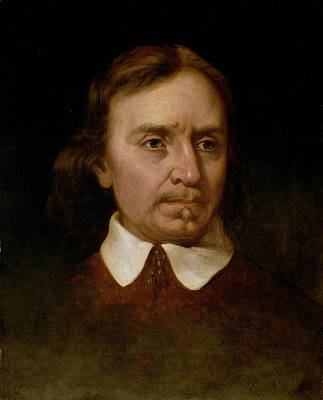 Portrait Study Of Oliver Cromwell Print by Martin Johnson Heade