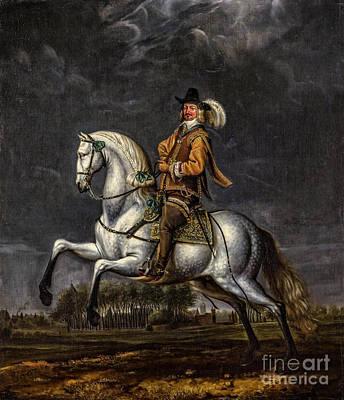 Man Painting - Portret Van Johan Wolphert Van Brederode  by Viktor Birkus