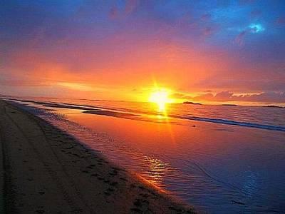 Portrush Photograph - Portrush Sunset by Tara Potts