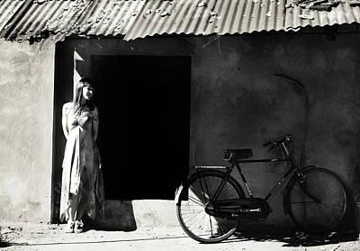 Abandoned Houses Photograph - Portuguese House. Old Goa. India by Jenny Rainbow