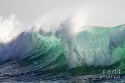 Heiko Photograph - Portuguese Sea Surf by Heiko Koehrer-Wagner