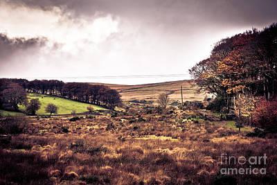 Postbridge On Dartmoor Print by Jan Bickerton
