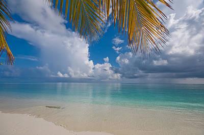 Blue Healer Photograph - Postcard Perfection. Maldives by Jenny Rainbow