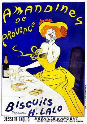 Belle Epoque Drawing - Poster Cookies, C1900 by Granger