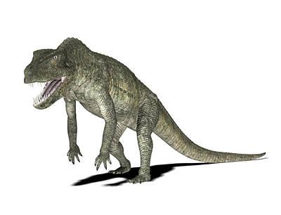 Paleozoology Photograph - Postosuchus Dinosaur by Friedrich Saurer