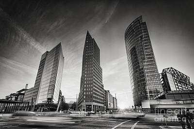 Black Commerce Photograph - Potsdamer Platz 1 by Rod McLean