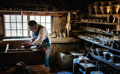 Potters Shed Print by Scott Thorp