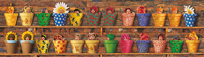 Fine Art Flower Photograph - Potting Shed by Anne Geddes