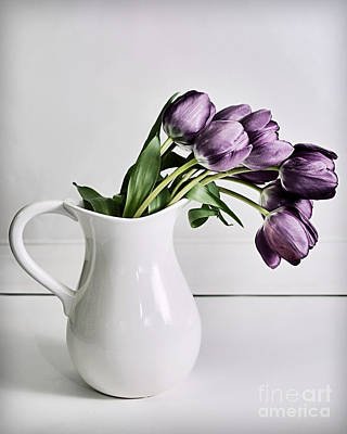 Susan M. Smith Photograph - Pouring Purple by Susan Smith