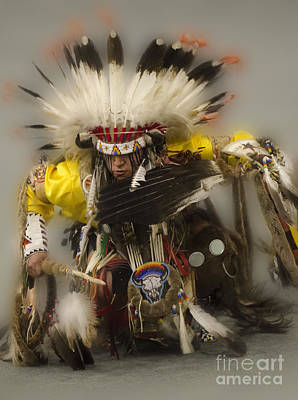 Beadwork Photograph - Pow Wow Days Of Thunder   by Bob Christopher
