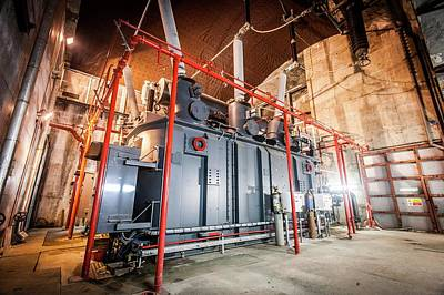 Power Station Transformer Print by Gustoimages