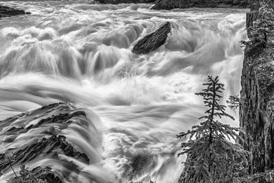 Power Stream Print by Jon Glaser