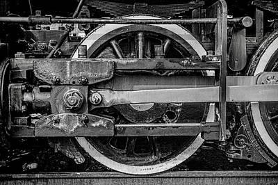 Locomotive Wheels Photograph - Power Stroke by Ken Smith