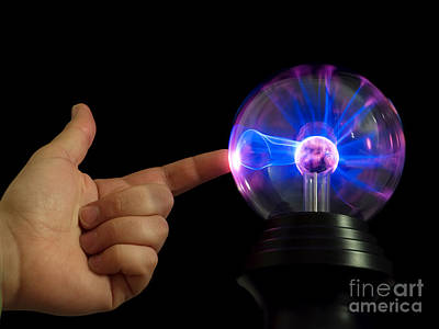 Plasmatron Photograph - Power Touch by Sinisa Botas