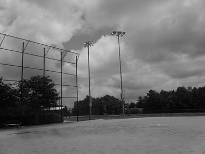 Baseball Fields Photograph - Practice Diamond by Kelly Hazel