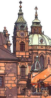 Prague 1 Print by Phil Robinson
