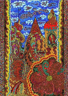 Czech Republic Painting - Prague 2 by Alex Art