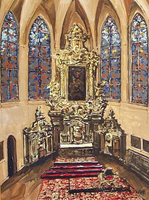 Czech Republic Painting - Prague Czech Republic by Paul Guyer