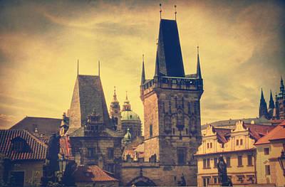 Lomo Colors Print featuring the photograph Praha by Taylan Apukovska