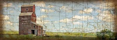 Judy Wood Digital Art - Prairie Panorama by Judy Wood