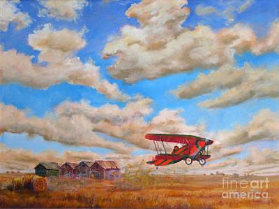 Prairie Runway Original by Mohamed Hirji