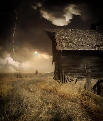 Prairie Storm Print by Pixabay