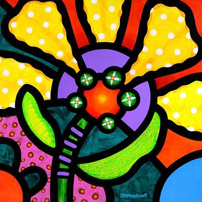 Prairie Sunflower Original by Steven Scott