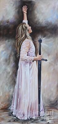 Painting - Praise To The Groom by Ilse Kleyn