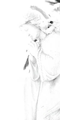 Pray Print by Linda Knorr Shafer