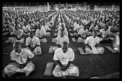 Praying For World Peace Print by David Longstreath