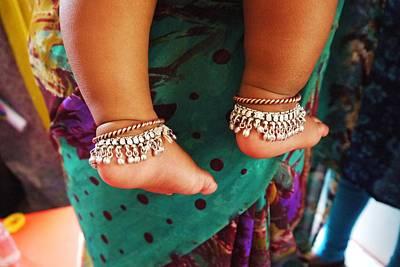 Ankle Bracelet Photograph - Precious by Linda Gray