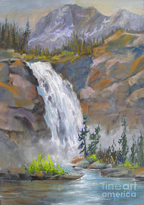 Precipitous Falls Original by Mohamed Hirji
