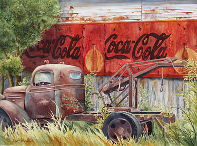 Coca Cola Signs Painting - Prefect Harmony by Daydre Hamilton