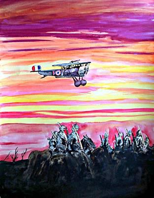 Prelude To Armageddon 2015 Original by Ken Higgins