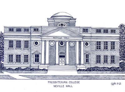 Presbyterian College Print by Frederic Kohli