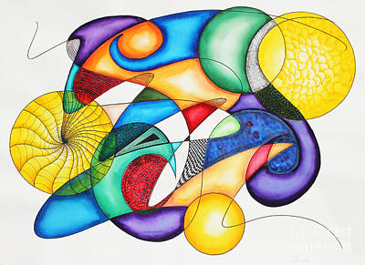 Creativity Drawing - Present by Shannan Peters