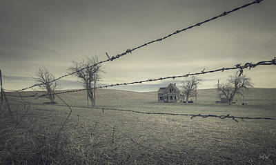 Barbed Wire Photograph - Preservation Of A Life by Everet Regal