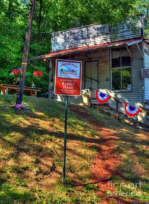 Country Scenes Photograph - Preserve America by Mel Steinhauer