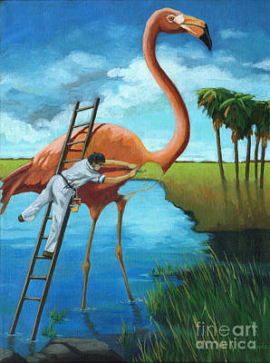 Painting - Preserving Wildlife by Linda Apple