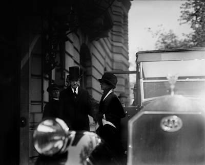 President Calvin Coolidge Front Left Print by Everett