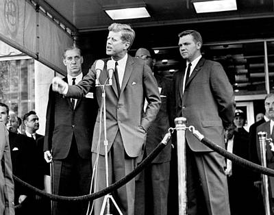 John F. Kennedy Print by Retro Images Archive