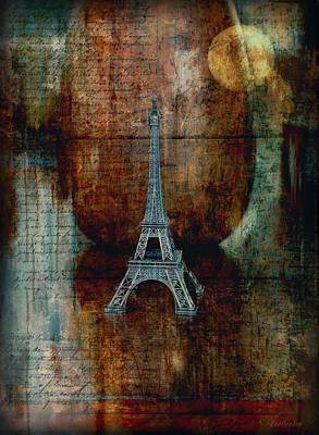 Paris Digital Art - Pretending by Maria Angelica Maira