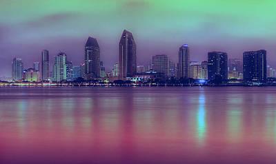 Tourist Attraction Digital Art - Pretty City  by Kenny  Noddin