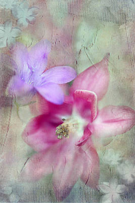 Pretty Flowers Print by Annie Snel