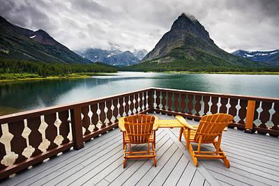 Glacier National Park Photograph - Priceless Glacier View by Mark Kiver