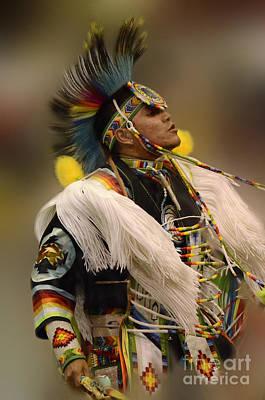 Pow Wow Native Pride 2 Print by Bob Christopher