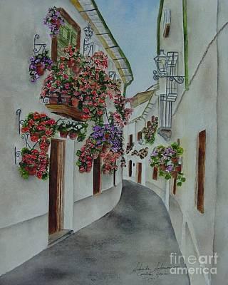 Priego De Cordoba Print by Sobeida Salomon