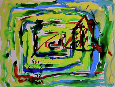 Primary Study IIi Into The Light Original by Beverley Harper Tinsley